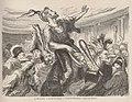 La Mi-Carême - Au bal de l'Opéra - Vivent les Flambards ! - Dessin de Honoré Daumier - Le Monde illustré - 21 mars 1868.jpg