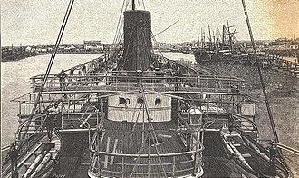 SS La Touraine - Bridge of La Touraine
