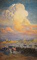 La nube o carga de la caballería mora (Ulpiano Checa.jpg