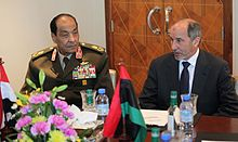 الليبية في أول زيارة له إلى الخارج