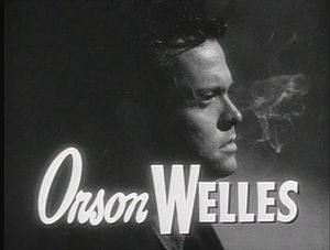 Screenshot of Orson Welles in The Lady from Sh...