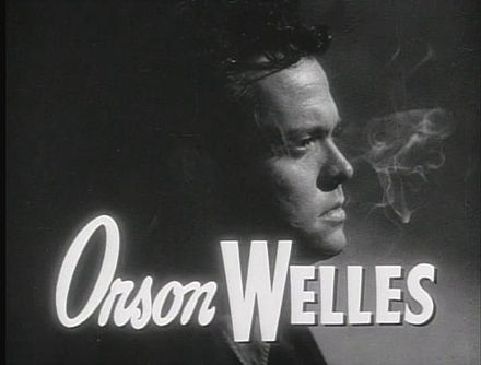 Orson Welles in The Lady from Shanghai (1947) Lady from Shanghai trailer welles.JPG