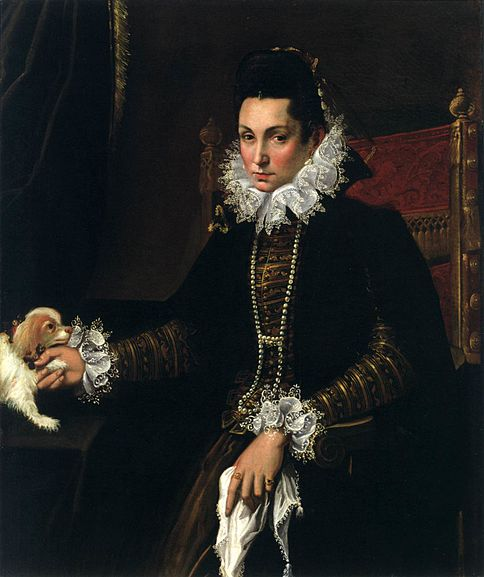 File:Lady with a Lapdog (Lavinia Fontana).jpg