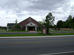 Lakeland, Georgia - Lakeland City Hall and Lakeland Police Department