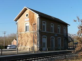Couze station railway station in Lalinde, France