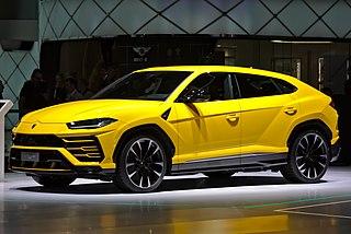 SUV manufactured by Lamborghini