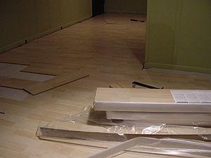 Pergo flooring project