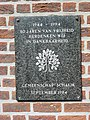 Landerd, Schaijk voorm. gemeentehuis, gedenksteen 1944.JPG