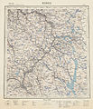 Landgeneralkart 40, Røros, 1940.jpg