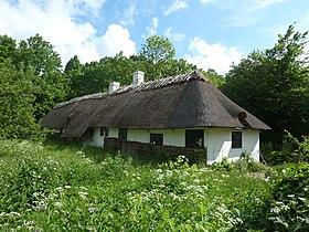 Hjulmagerhus fra Kalvehave, Sjælland (Frilandsmuseet) - Wikipedia, den frie encyklopædi
