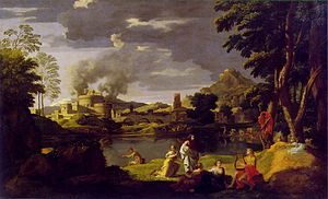 Landscape with orpheus and eurydice 1650-51.jpg