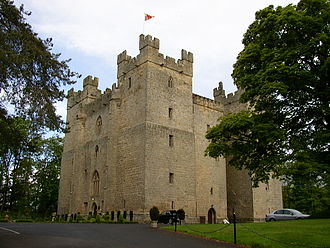 Tyndall - Langley Castle in Tynedale, the first seat of the Tyndale family
