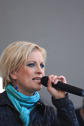 Eurovision Song Contest 2002 - Laura Voutilainen, Winner of Fan Award