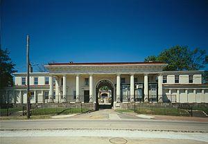 John Notman - Image: Laurel Hill Cemetery Gatehouse(cropped) HABS314296cv