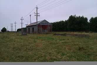 Methven Branch - Lauriston goods shed