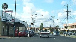 Laverton, Victoria - Aviation Road, main street of Laverton