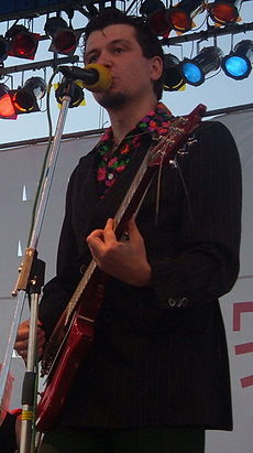 Lavon Volski on Krambambula Concert, September 11, 2004.jpg