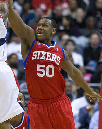 Lavoy Allen - Allen with the 76ers in March 2013