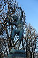Le Faune dansant by Eugène-Louis Lequesne, Jardin du Luxembourg, Paris 16 January 2016.jpg