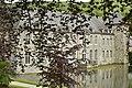 Le château de Rouillons derrière les feuillages (28467271984).jpg
