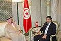 Le chef de la diplomatie reçoit le président général du Fonds d'Abou Dhabi pour le développement (6886714773).jpg