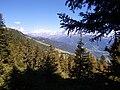 Le massif du mont blanc vu du sentier de la croix de coste - panoramio.jpg