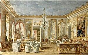 Ch teau de saint cloud wikimonde for Salon egyptien