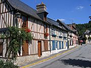 A typical Normandy village