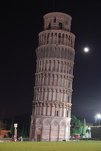 Soil mechanics - The Leaning Tower of Pisa – an example of a problem due to deformation of soil.