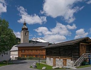 Lech (Vorarlberg) - Church St Nicholas of Lech