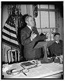 Legion Commander speaks before National Press Club. Washington, D.C., Nov. 28. Raymond J. Kelly, National Commander of the American Legion was a luncheon guest of the National Press Club LCCN2016876671.jpg