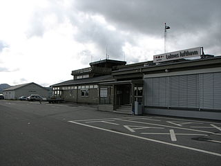 airport in Vestvågøy, Norway
