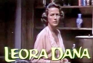 Leora Dana American actress