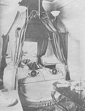 Il letto di morte di Mazzini, distrutto durante i bombardamenti di Pisa del 1943