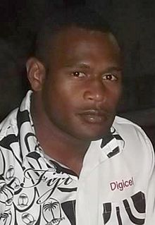 Levani Botia Fijian rugby union player