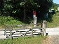 Level Crossing, New Bridge - geograph.org.uk - 198969.jpg