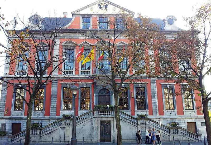 Walk through the city hall in Liege