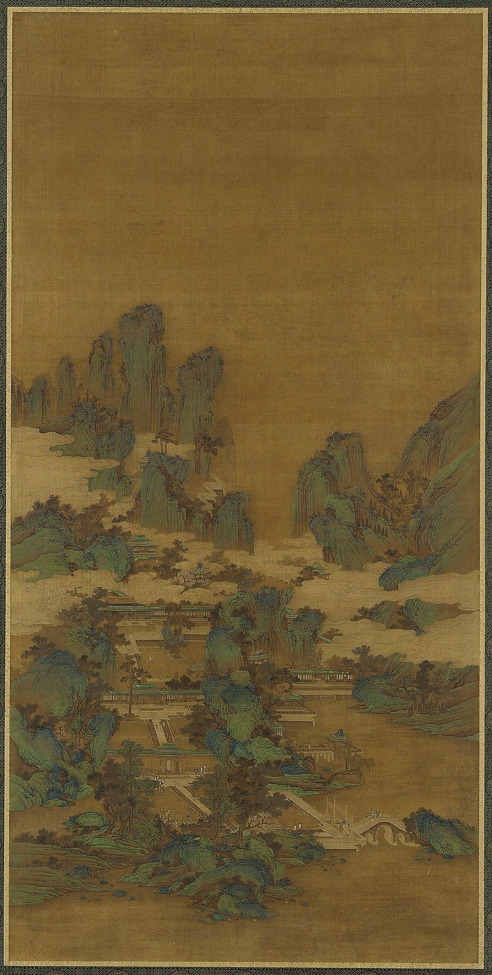 Li Sixun peizazh