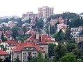 Libeň, výhled od Vychovatelny podél Kubišovy ulice.jpg