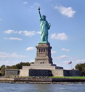 New York Harbor - Statue of Liberty (Liberty Enlightening the World)
