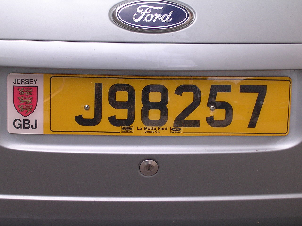 jersey car number plates