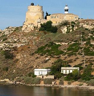Capo SantElia Lighthouse lighthouse in Italy