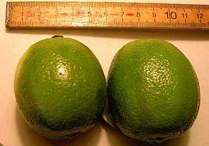 To limefrugter