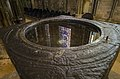 Lincoln Cathedral font reflections (26137082045).jpg
