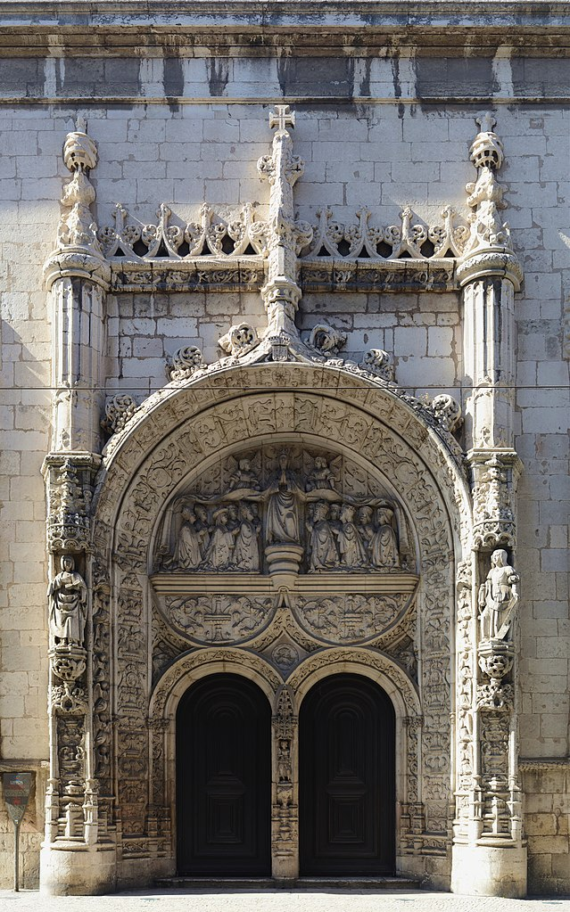 Porte de l'église Igreja de Nossa Senhora da Conceição Velha à Lisbonne - Photo d'Alvesgaspar