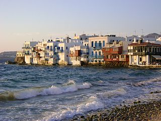 Mykonos Island and Municipality in South Aegean, Greece