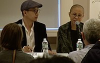 "Liu Xia attends public events in New York but avoids ""sensitive"" issues.jpg"