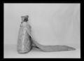 Liv till Sofia Magdalenas bröllopsklänning, robe de cour - Livrustkammaren - 9071.tif