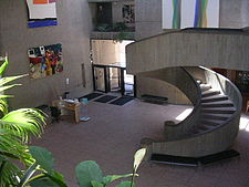 Lobby of the Everson Museum.JPG