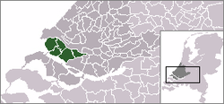 Location of Voorne-Putten